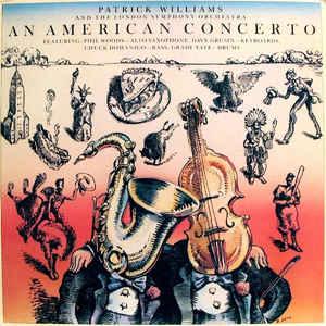 PATRICK WILLIAMS - An American Concerto cover