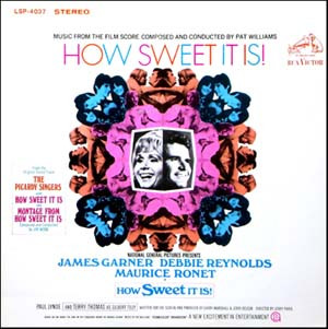 PATRICK WILLIAMS - How Sweet It Is! (Music From The Film Score) cover