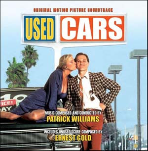 PATRICK WILLIAMS - Patrick Williams, Ernest Gold : Used Cars cover