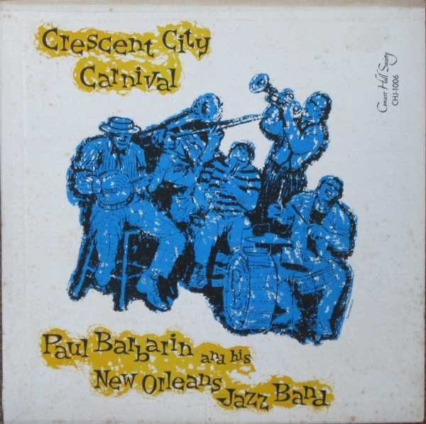 PAUL BARBARIN - Crescent City Carnival (aka New Orleans Jamboree) cover