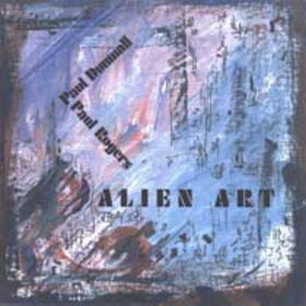 PAUL DUNMALL - Alien Art cover