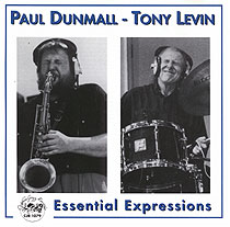 PAUL DUNMALL - Essential Expressions (with Tony Levin) cover