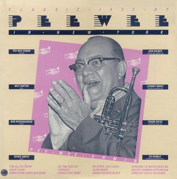 PEE WEE ERWIN - In New York cover