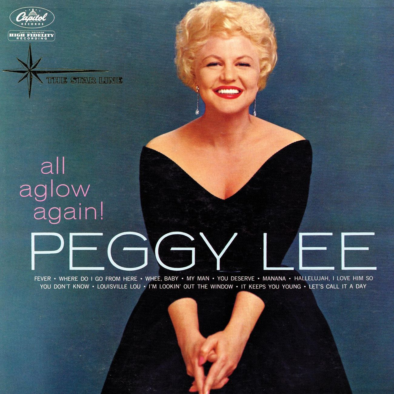 PEGGY LEE (VOCALS) - All Aglow Again! cover