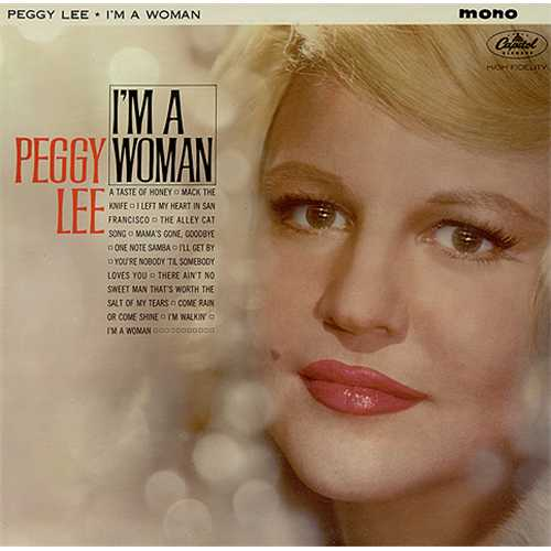 PEGGY LEE (VOCALS) - I'm a Woman cover