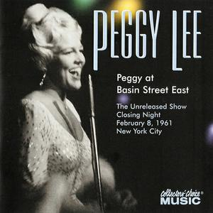 PEGGY LEE (VOCALS) - Peggy At Basin Street East cover