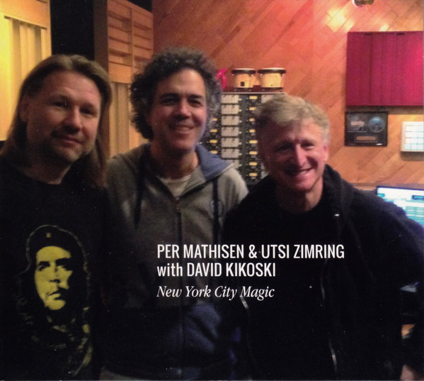 PER MATHISEN - Per Mathisen & Utsi Zimring With David Kikoski ‎: New York City Magic cover