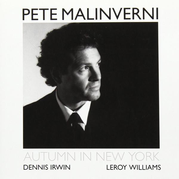 PETE MALINVERNI - Autumn In New York cover