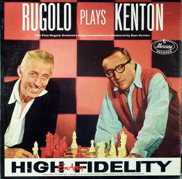 PETE RUGOLO - Rugolo Plays Kenton cover