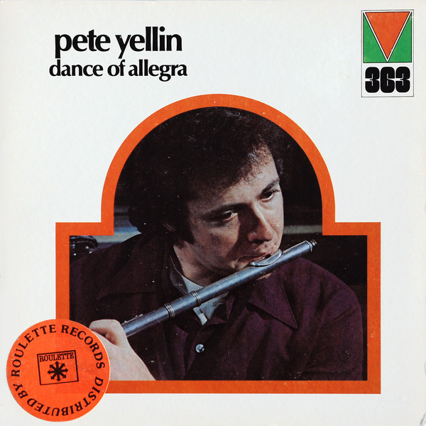 PETE YELLIN - Dance Of Allegra cover