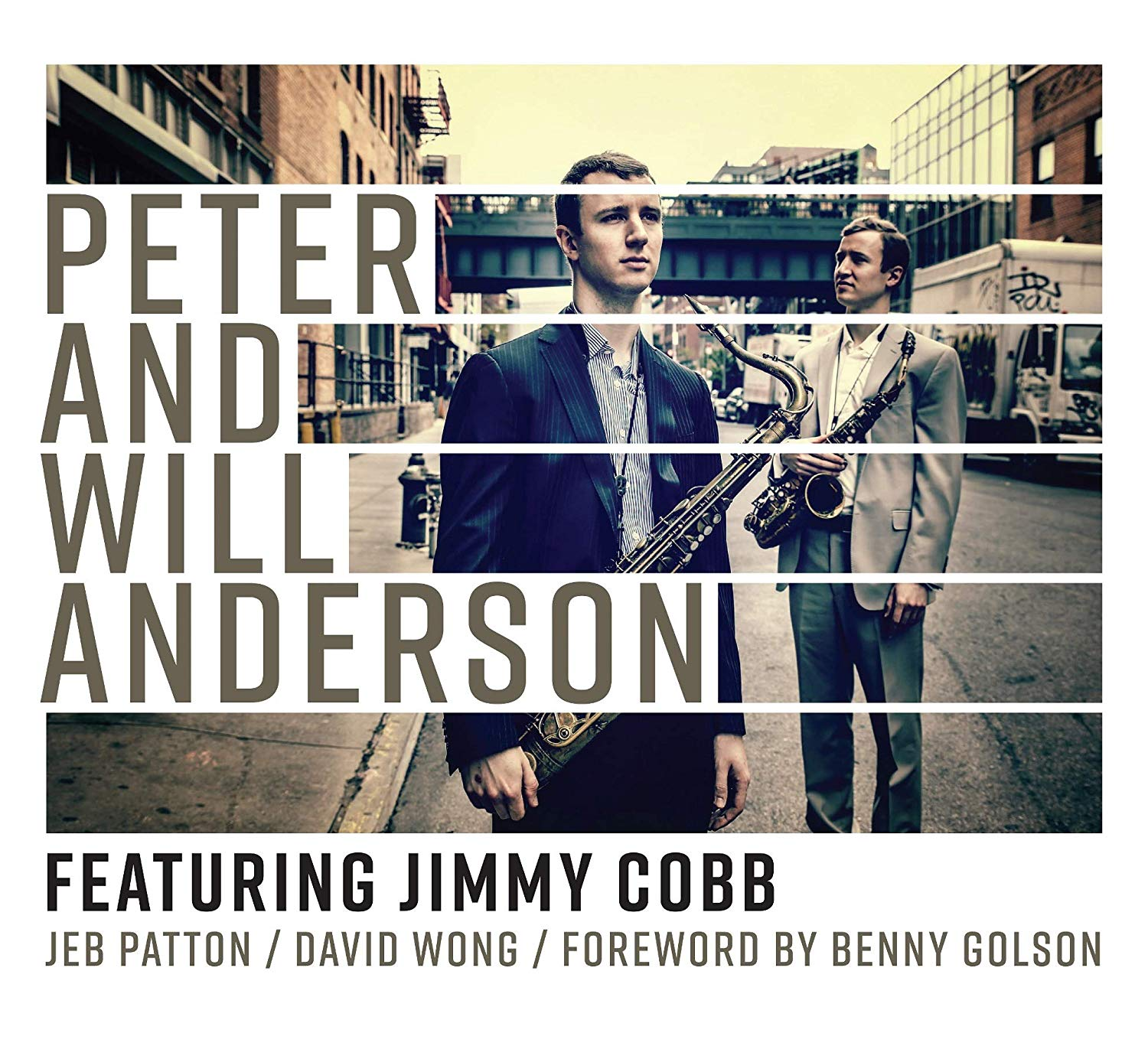 PETER AND WILL ANDERSON - Peter And Will Anderson featuring Jimmy Cobb cover