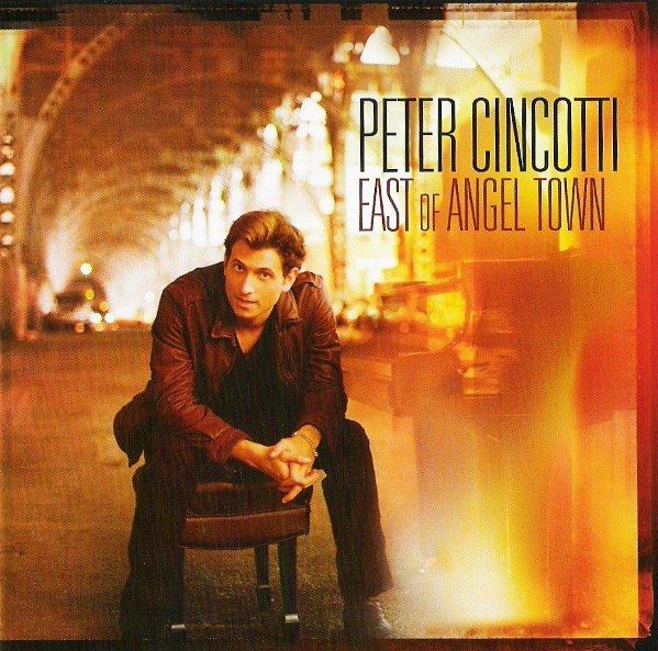 PETER CINCOTTI - East Of Angel Town cover