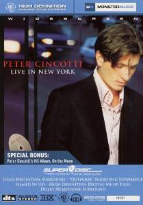PETER CINCOTTI - Live in New York cover