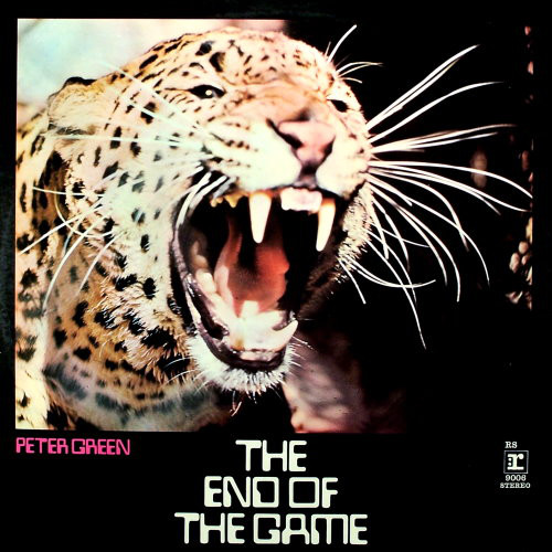 PETER GREEN - The End Of The Game cover