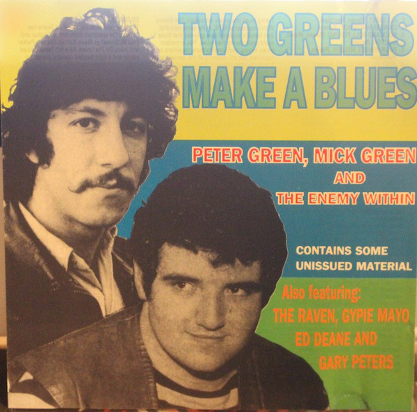 PETER GREEN - Two Greens Make A Blues cover
