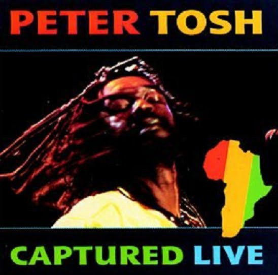 PETER TOSH - Captured Live cover