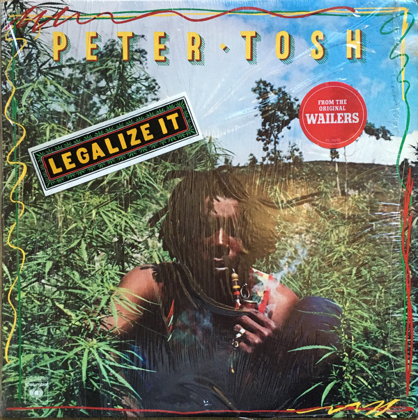 PETER TOSH - Legalize It cover