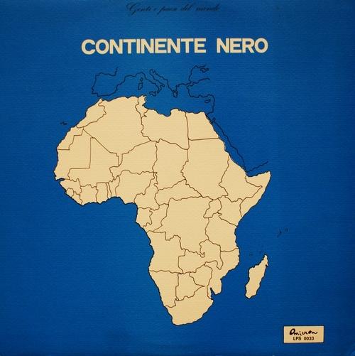 PIERO UMILIANI - Continente Nero cover