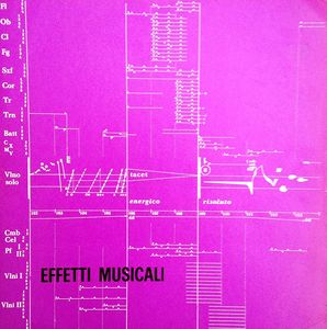 PIERO UMILIANI - Effetti Musicali cover