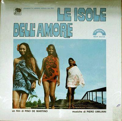 PIERO UMILIANI - Le Isole Dell'Amore cover