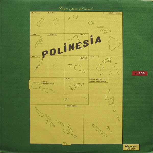 PIERO UMILIANI - Polinesia cover