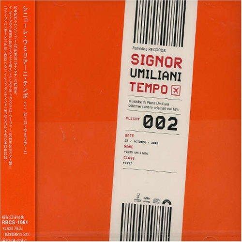 PIERO UMILIANI - Signor Umiliani Tempo - Flight 002 (Musiche Di Piero Umiliani - Colonne Sonore Originali Dei Film) cover