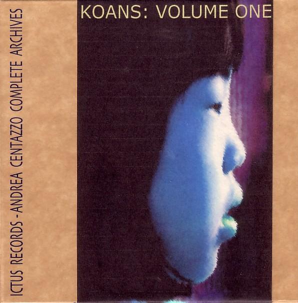 PIERRE FAVRE - Pierre Favre, Andrea Centazzo – Koans: Volume One cover