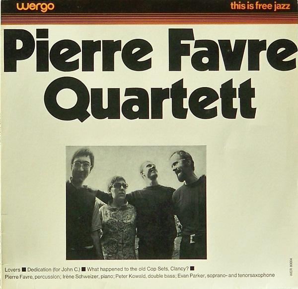 PIERRE FAVRE - Pierre Favre Quartett cover