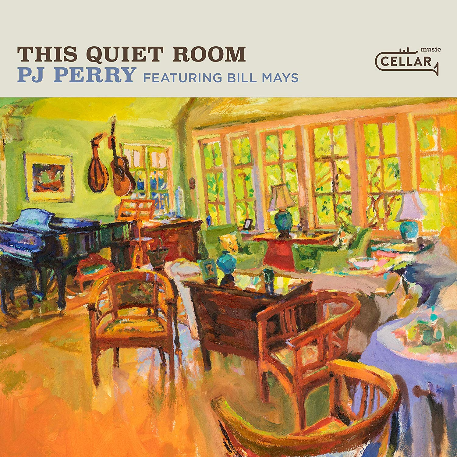 P.J. PERRY - This Quiet Room cover