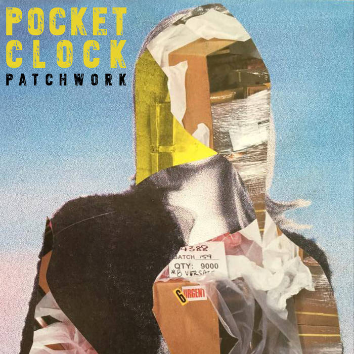 POCKET CLOCK - Patchwork cover