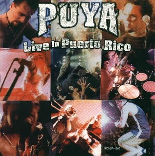 PUYA - Live In Puerto Rico cover