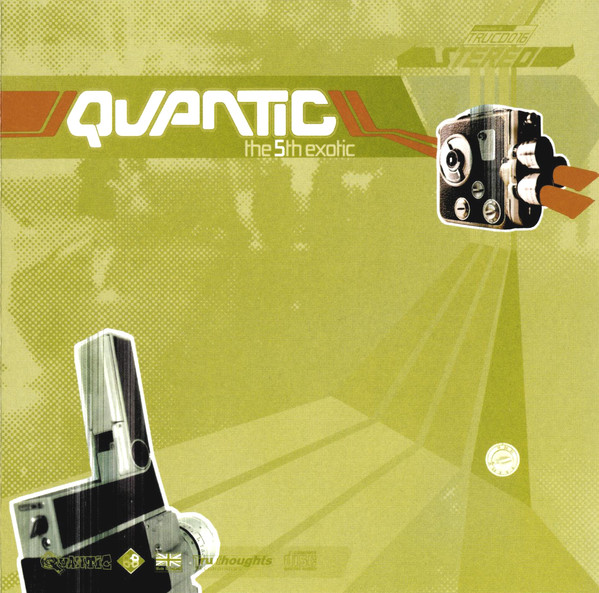 QUANTIC - The 5th Exotic cover