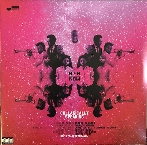 R+R = NOW - Collagically Speaking cover