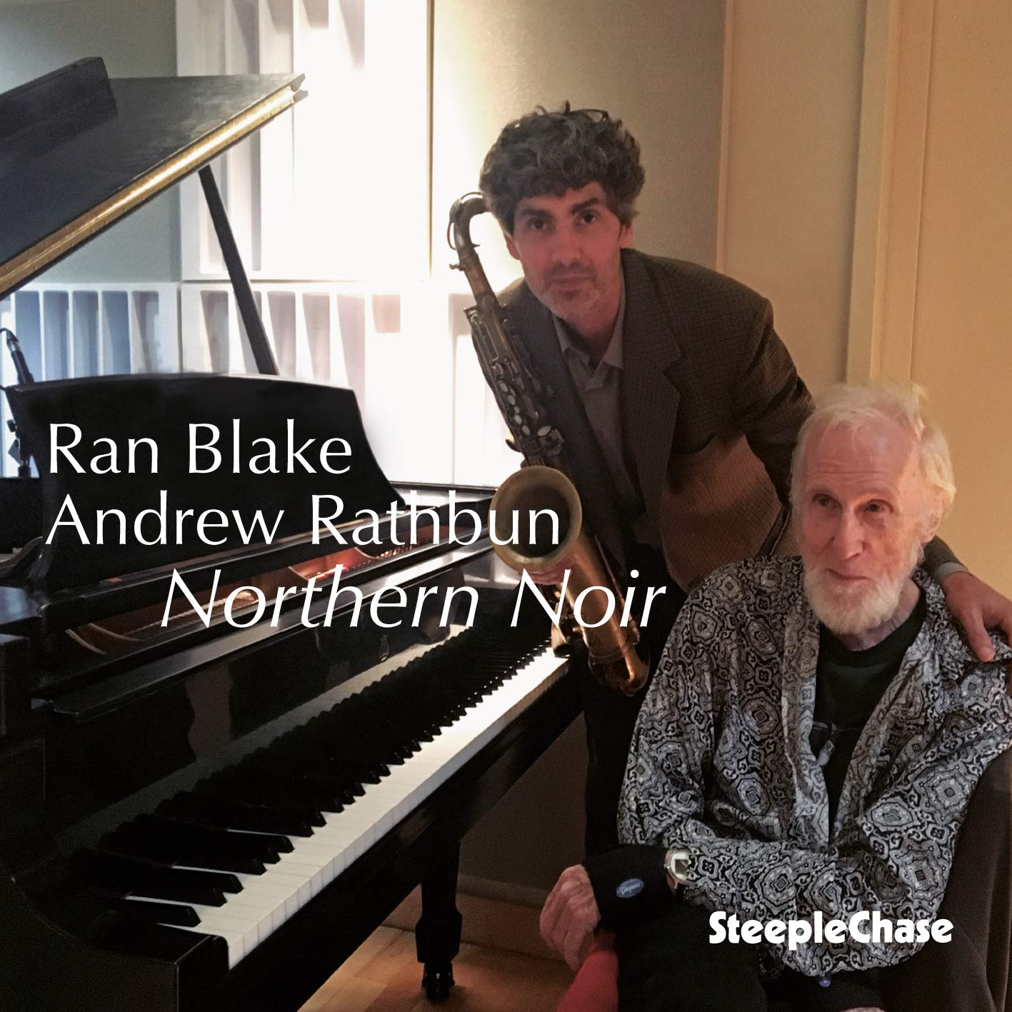RAN BLAKE - Ran Blake, Andrew Rathbun : Northern Noir cover