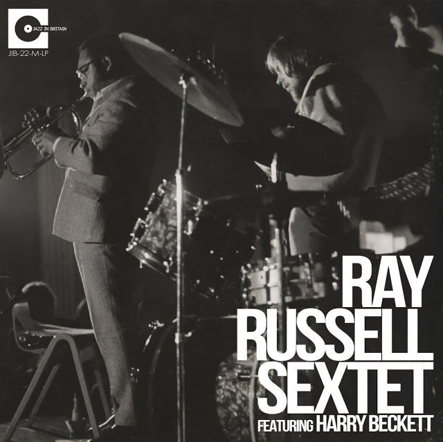 RAY RUSSELL - The Ray Russell Sextet (feat. Harry Beckett) : Forget To Remember - Live Vol​.​2 1970 cover