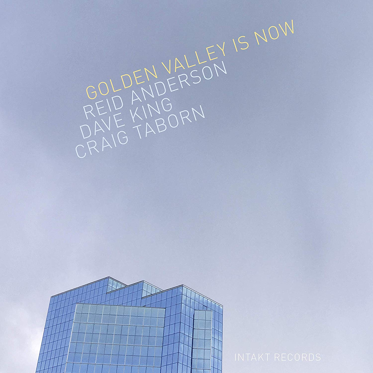 REID ANDERSON - Golden Valley Is Now cover