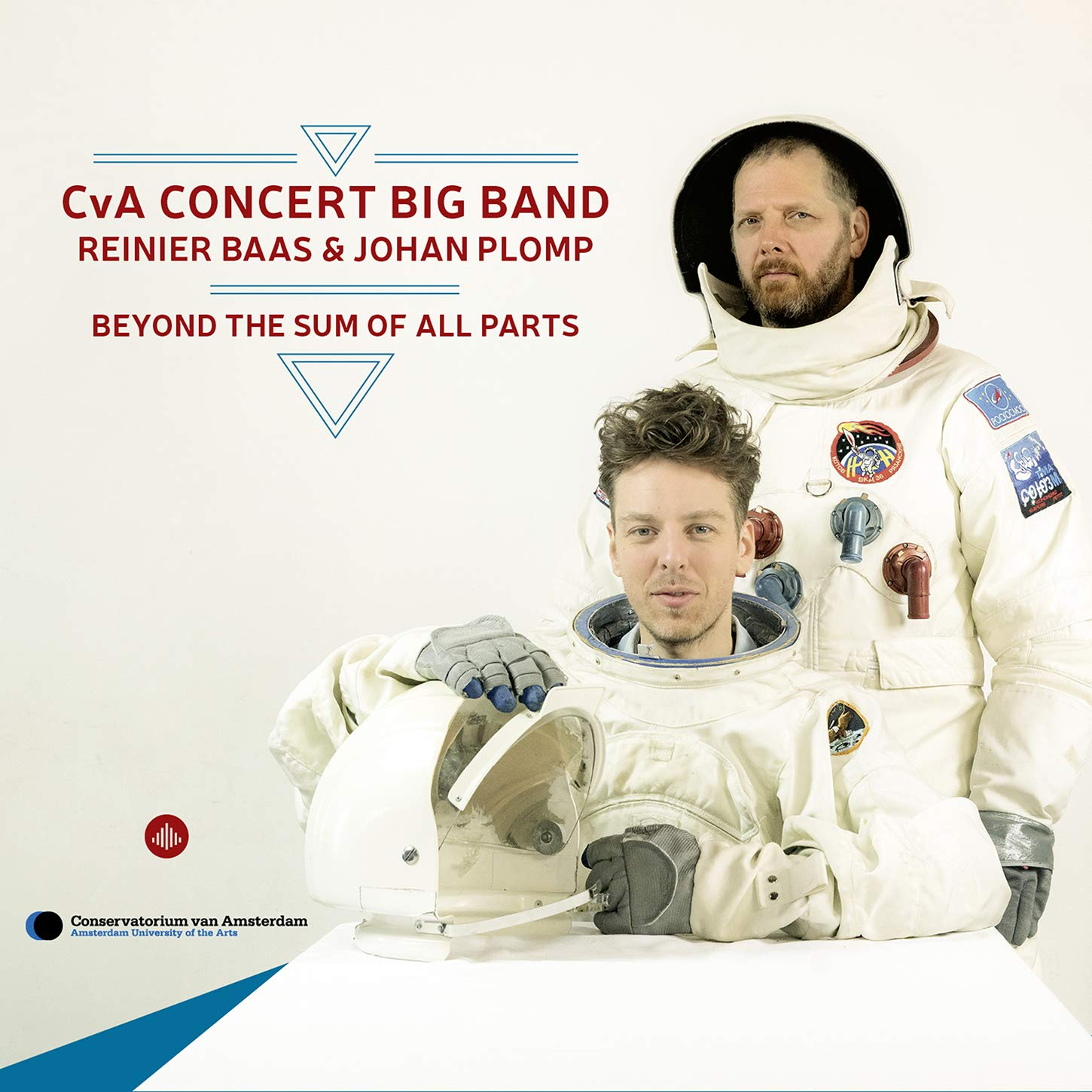 REINIER BAAS - CvA Concert Big Band / Reinier Baas / Johan Plomp : Beyond the Sum of All Parts cover