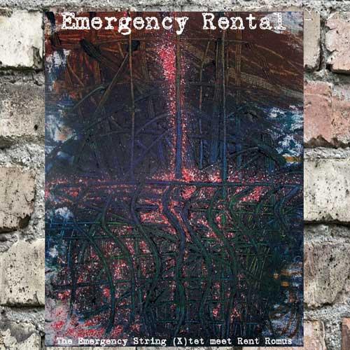 RENT ROMUS - Emergency String Quartet / Rent Romus : Emergency Rental cover