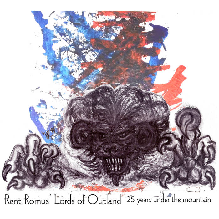 RENT ROMUS - Rent Romus' Lords of Outland : 25 years under the mountain cover