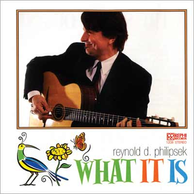 REYNOLD PHILIPSEK - What It Is cover
