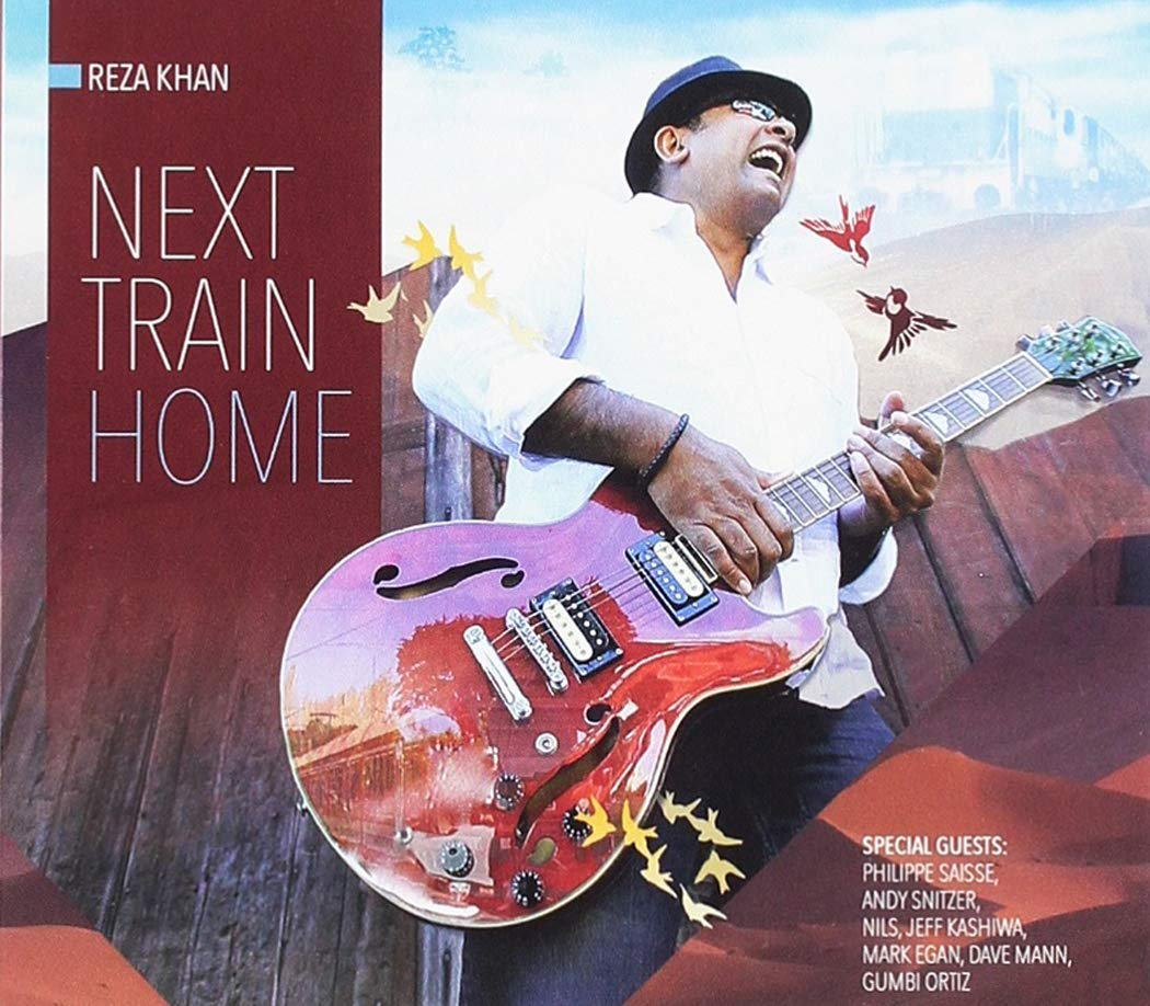 REZA KHAN - Next Train Home cover