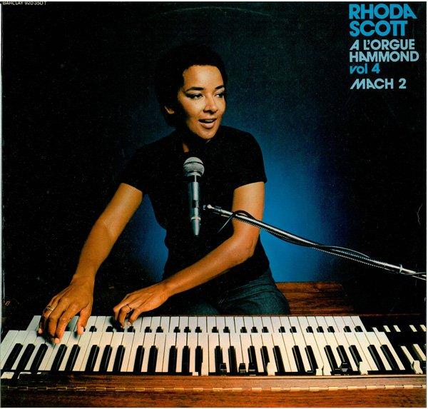 RHODA SCOTT - A L'Orgue Hammond Vol 4 Mach 2 (aka Succes De L'Orgue) cover