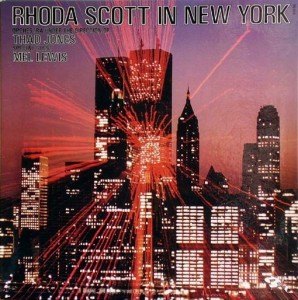 RHODA SCOTT - In New York cover