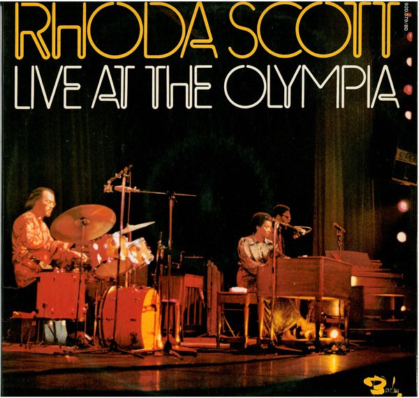 RHODA SCOTT - Live At The Olympia cover