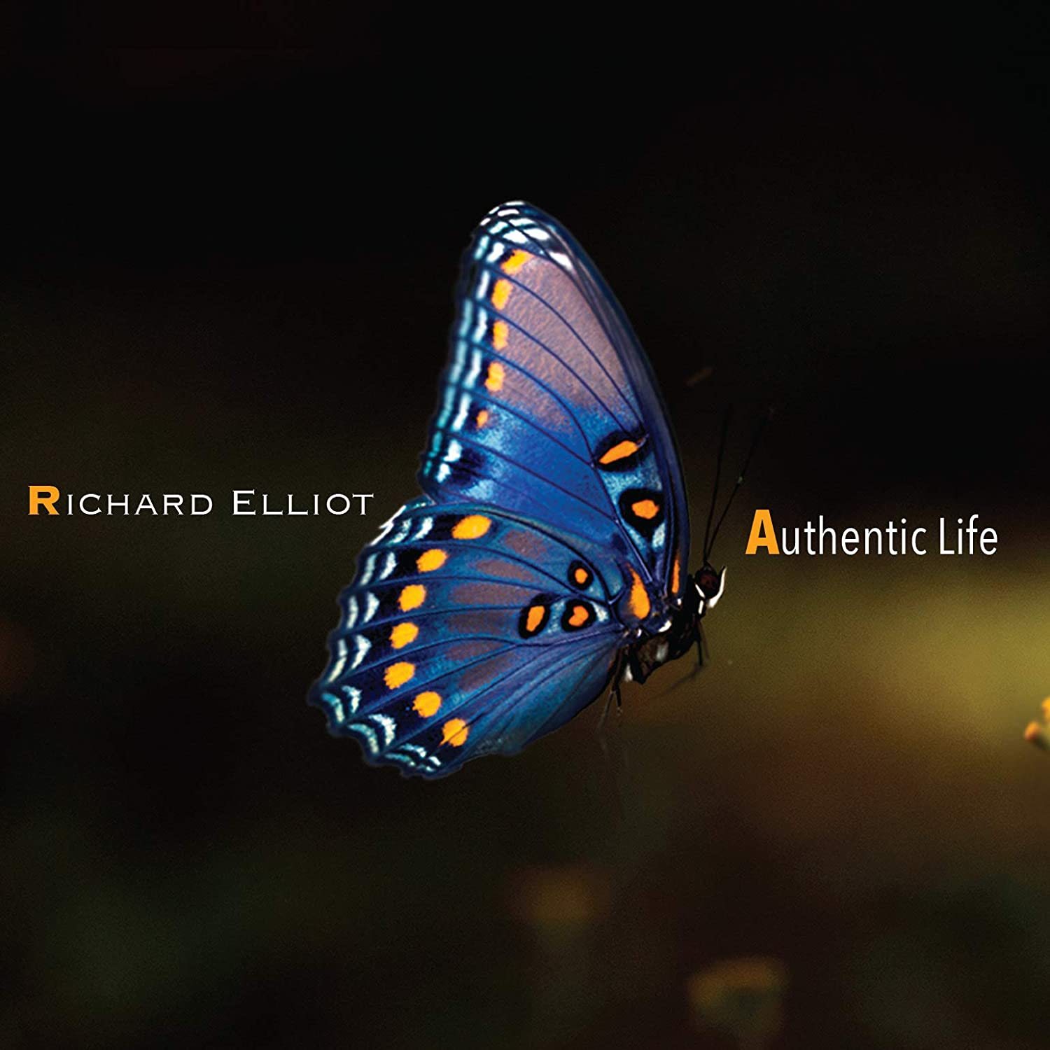 RICHARD ELLIOT - Authentic Life cover