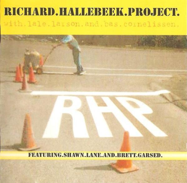 RICHARD HALLEBEEK - Richard Hallebeek Project : RHP cover