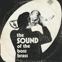 ROB MCCONNELL - The Sound Of The Boss Brass cover