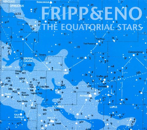 ROBERT FRIPP - The Equatorial Stars (with Eno) cover
