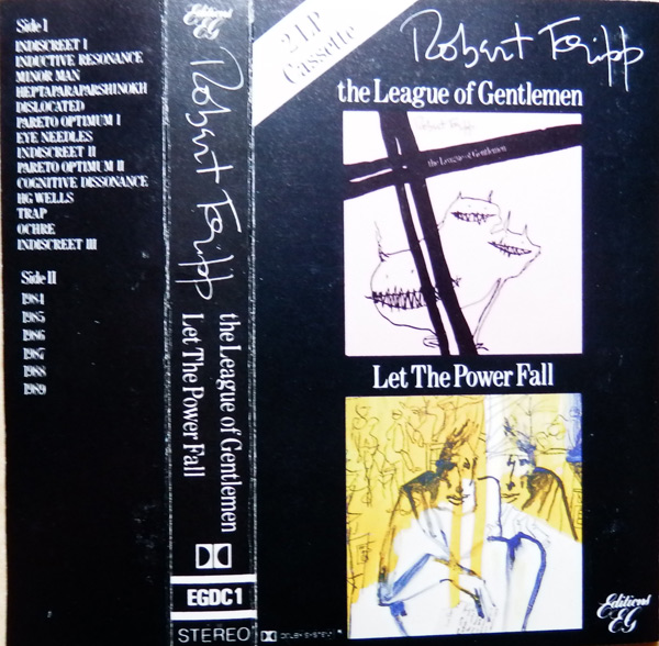 ROBERT FRIPP - The League Of Gentlemen/Let The Power Fall cover