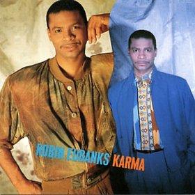 ROBIN EUBANKS - Karma cover